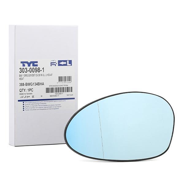 TYC: Original Spiegelglas Außenspiegel 303-0098-1 ()