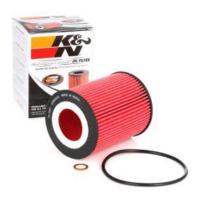 Achat de PS-7007 K&N Filters Cartouche filtrante Ø: 83mm Filtre à huile PS-7007 pas chères