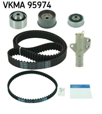 VKMT956662 SKF Zähnezahl 1: 153, mit Spanndämpfer, Spannrolle Zahnriemensatz VKMA 95974 günstig kaufen