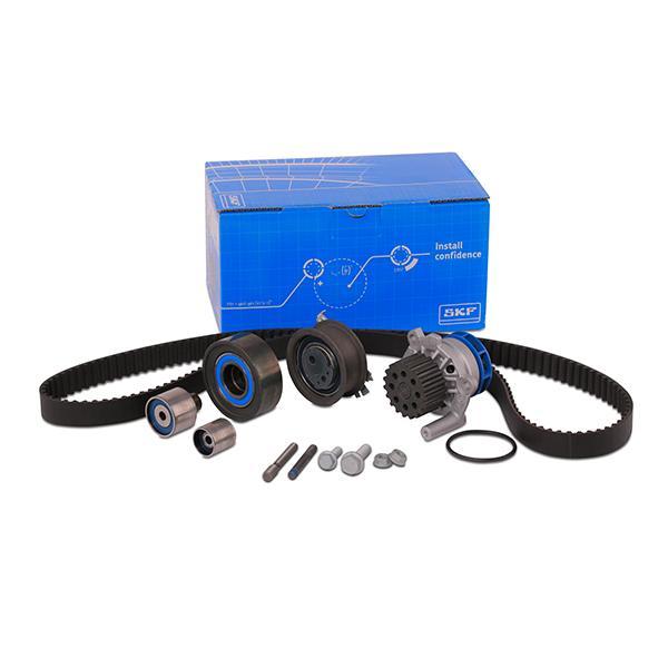 Pieces detachees VW Golf VI 2008 : Kit de distribution + pompe à eau SKF VKMC 01148-2 — profitez des offres tout de suite!