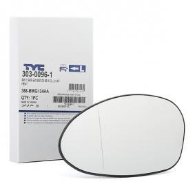 303-0096-1 TYC Left Mirror Glass, outside mirror 303-0096-1 cheap