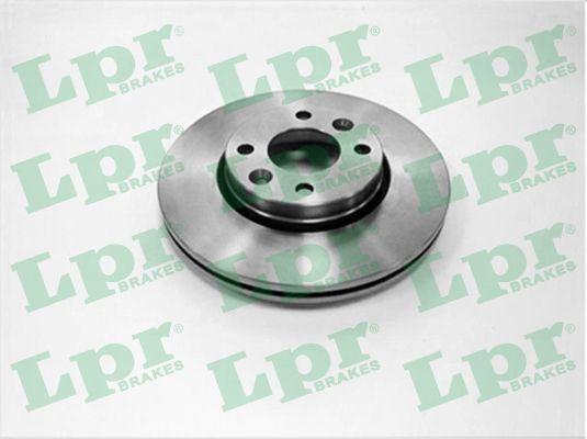 R1058V LPR 3 Ø: 258mm, Felge: 4-loch, Bremsscheibendicke: 22mm Bremsscheibe R1058V günstig kaufen