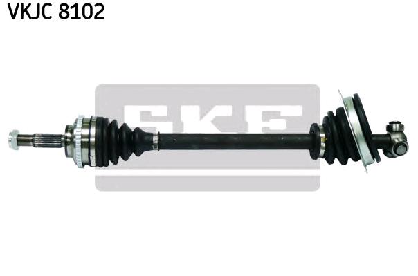 SKF: Original Antriebswellen & Gelenke VKJC 8102 (Länge: 628mm, Außenverz.Radseite: 21, Zähnez. ABS-Ring: 44)