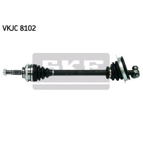VKJC 8102 SKF Länge: 628mm, Außenverz.Radseite: 21, Zähnez. ABS-Ring: 44 Antriebswelle VKJC 8102 günstig kaufen