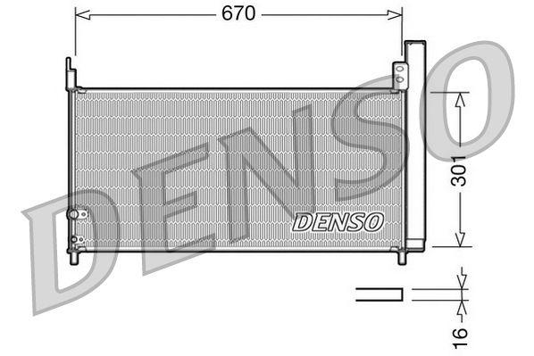 OE Original Klimakühler DCN50037 DENSO