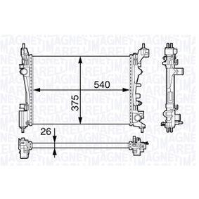 350213143100 MAGNETI MARELLI Kühler, Motorkühlung 350213143100 günstig kaufen