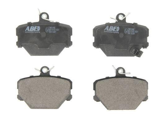 SMART CROSSBLADE 2003 Bremsklötze - Original ABE C1M019ABE Höhe: 70mm, Breite: 90mm, Dicke/Stärke: 15,5mm