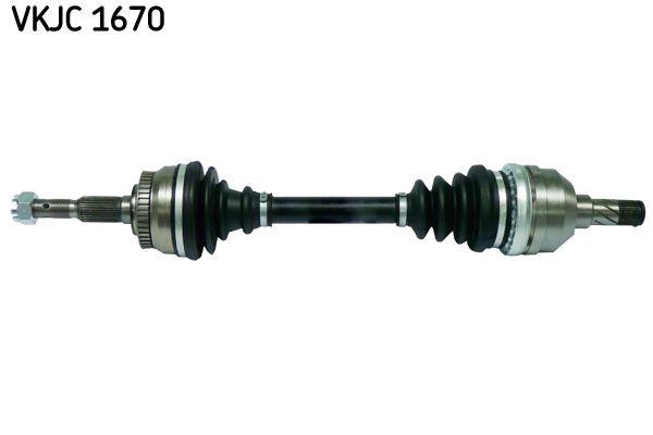 OPEL CALIBRA 1992 Antriebswelle - Original SKF VKJC 1670 Länge: 591mm, Außenverz.Radseite: 33, Zähnez. ABS-Ring: 43