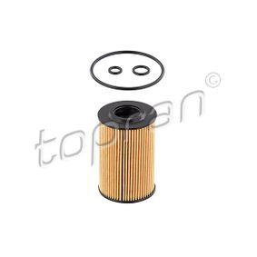 Achat de 112 939 TOPRAN avec joints, Cartouche filtrante Filtre à huile 112 939 pas chères
