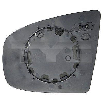 Spiegelglas Außenspiegel TYC 303-0102-1