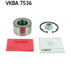 Wheel Bearing Kit VKBA 7536 for MAZDA 5 (CR19) — get your deal now!