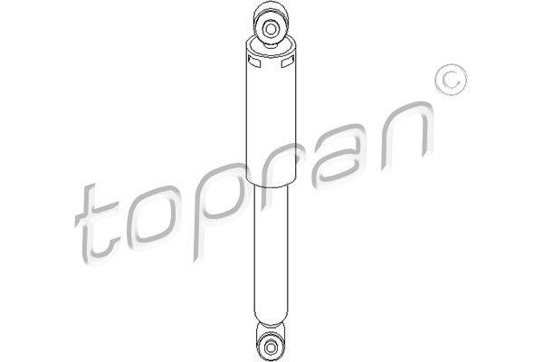 Амортисьори 206 551 TOPRAN — само нови детайли