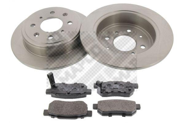Buy original Brake rotors and pads MAPCO 47537