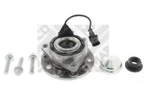 Купете 26829 MAPCO от двете страни на предната ос, с вграден сензор за ABS Ø: 137мм Комплект колесен лагер 26829 евтино