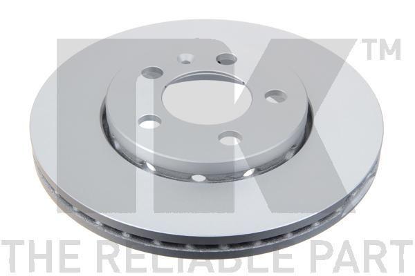 Bremsscheibe Polo 9n hinten und vorne 2009 - NK 314758 (Ø: 256mm, Felge: 5-loch, Bremsscheibendicke: 22mm)