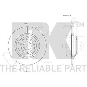 3147136 Brake Disc NK - Cheap brand products