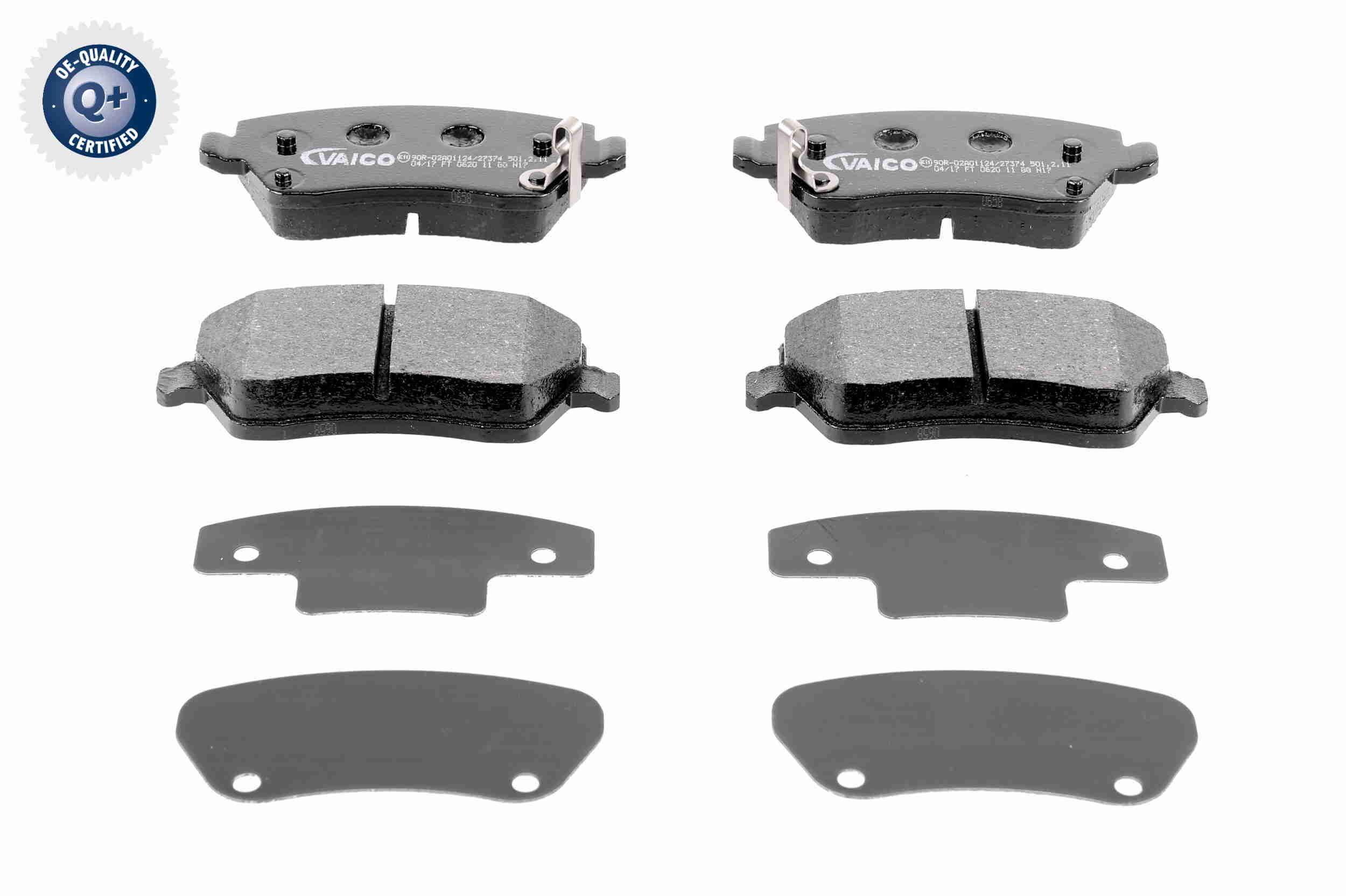 Scheibenbremsbeläge VAICO V38-0149