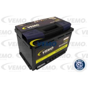 Vesz 74Ah VEMO Akkumulátor-kapacitás: 74Ah Hidegindító áram EN szerint: 680A, Feszültség: 12V, Polaritás: 0 Indító akkumulátor V99-17-0022 alacsony áron