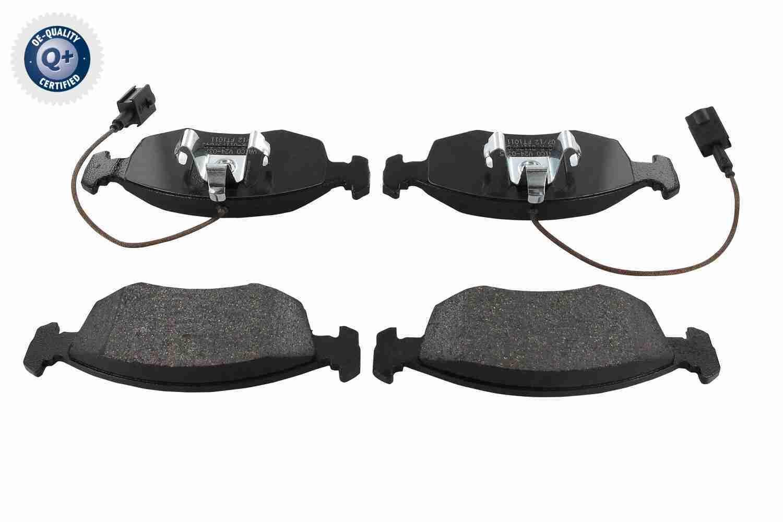 V24-0375 VAICO Q+, Erstausrüsterqualität, Vorderachse Höhe 1: 52,5mm, Breite 1: 149,5mm, Dicke/Stärke 1: 17,8mm Bremsbelagsatz, Scheibenbremse V24-0375 günstig kaufen