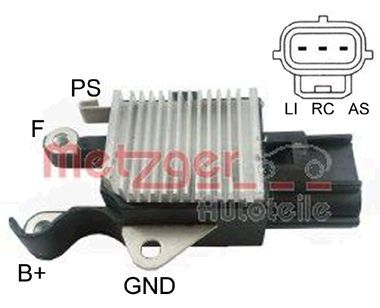 OE Original Generatorregler 2390033 METZGER