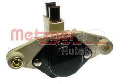 AUDI V8 1988 Generatorregler - Original METZGER 2390014 Nennspannung: 12V, Betriebsspannung: 14,5V