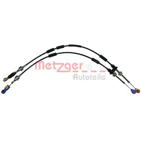 Cable, manual transmission METZGER 3150001 genuine — Buy now!