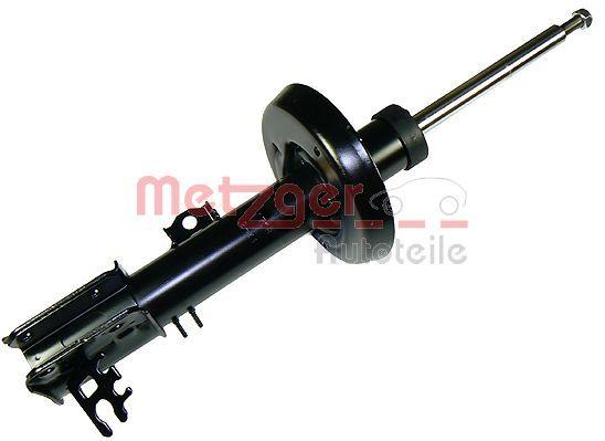 Купете 2340128 METZGER на предната ос отдясно, газов, носещ пружина амортисьор, дъга отдолу, отгоре щифт Амортисьор 2340128 евтино