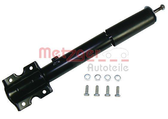 2340034 METZGER Vorderachse, Gasdruck, Dämpfer nicht federtragend, oben Stift, unten Platte Stoßdämpfer 2340034 günstig kaufen