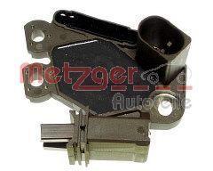 METZGER: Original Lichtmaschinenregler 2390047 (Nennspannung: 12V, Betriebsspannung: 14,7V)