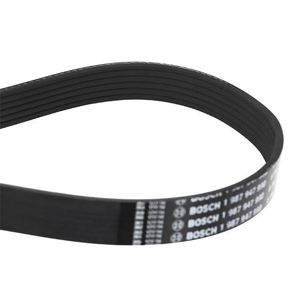 Volkswagen TOUAREG 2015 Belts, chains, rollers BOSCH 1 987 947 990: