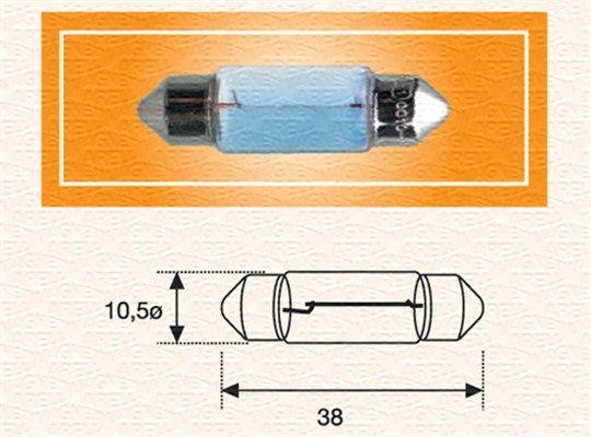 MAGNETI MARELLI Glühlampe, Kennzeichenleuchte für RENAULT TRUCKS - Artikelnummer: 009423100000
