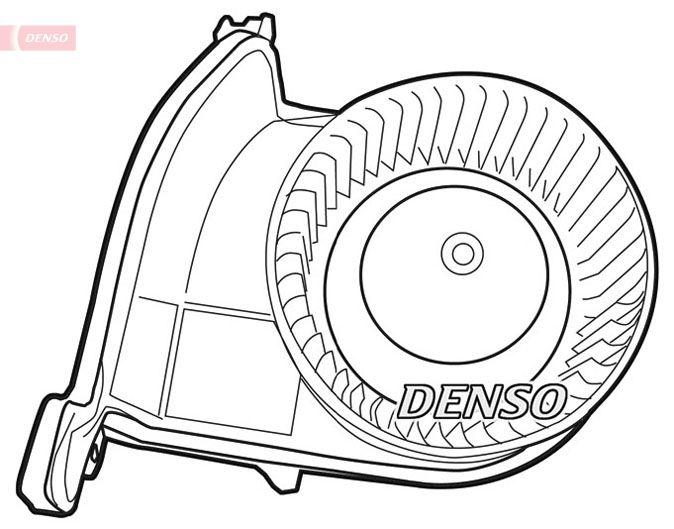 Topeni / chlazeni DEA23003 s vynikajícím poměrem mezi cenou a DENSO kvalitou