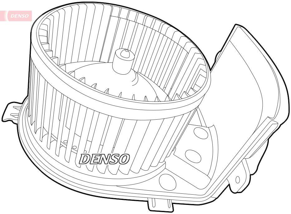 Original Verwarming / ventilatie DEA23005 Renault