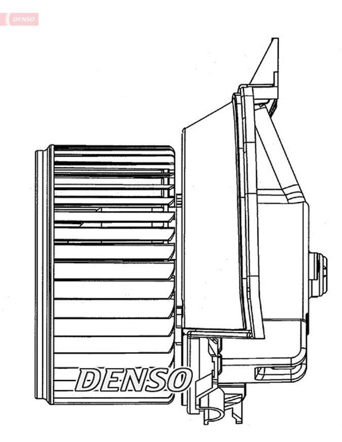OE Original Innenraumgebläse DEA09203 DENSO