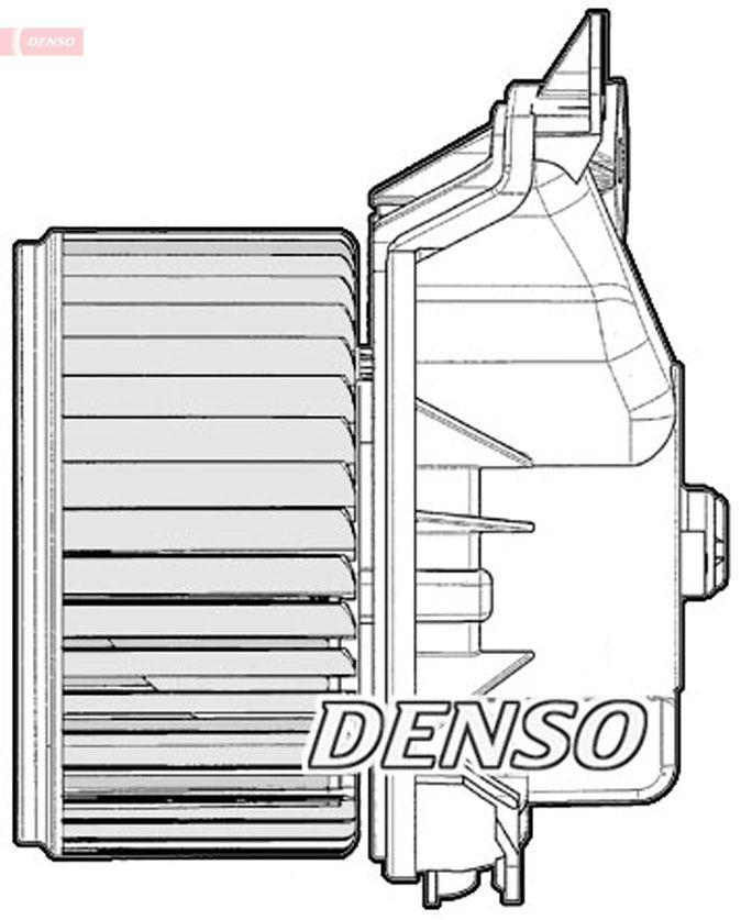 Original Varme / friskluft dele DEA20012 Opel