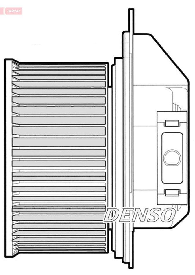 Kupéfläkt DENSO DEA01001 Recensioner