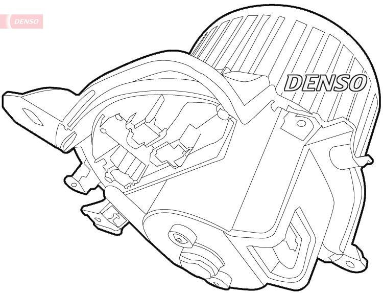 OE Original Heizgebläsemotor DEA01012 DENSO