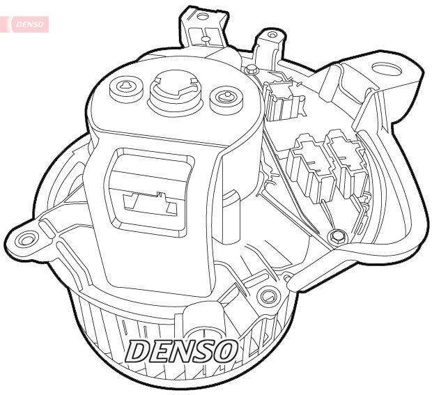 OE Original Innenraumgebläse DEA01011 DENSO