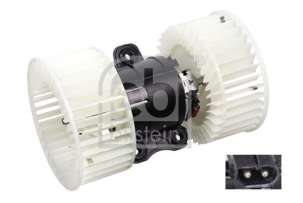 BMW X5 2012 Heizgebläsemotor - Original FEBI BILSTEIN 38482 Spannung: 12V, Nennleistung: 210W, Anschlussanzahl: 2