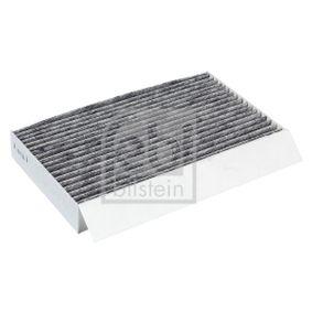 37567 FEBI BILSTEIN Aktivkohlefilter Breite: 151,0mm, Höhe: 35mm, Länge: 259mm Filter, Innenraumluft 37567 günstig kaufen