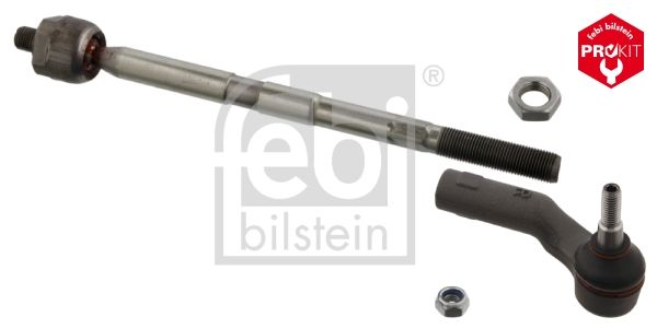 Ford FOCUS 2019 Steering tie rod FEBI BILSTEIN 37742: Front Axle Right, with nut