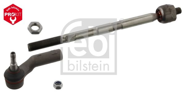 Ford FOCUS 2018 Tie rod assembly FEBI BILSTEIN 37741: Front Axle Left, with nut