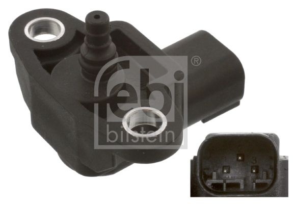 38494 Sensor, Ladedruck FEBI BILSTEIN in Original Qualität