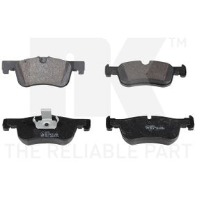 disc brake Front Axle FEBI 16885 Brake Pad Set