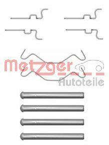 OE Original Zubehörsatz, Scheibenbremsbelag 109-1683 METZGER