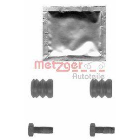 Z1301 METZGER ohne Bolzen Zubehörsatz, Bremssattel 113-1301 günstig kaufen