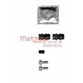 Z1355 METZGER ohne Bolzen Zubehörsatz, Bremssattel 113-1355 günstig kaufen