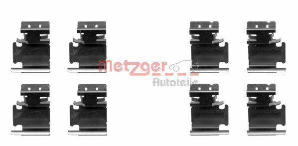 Z1298 METZGER Zubehörsatz, Scheibenbremsbelag 109-1298 günstig kaufen