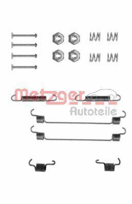METZGER Zubehörsatz, Bremsbacken 105-0657