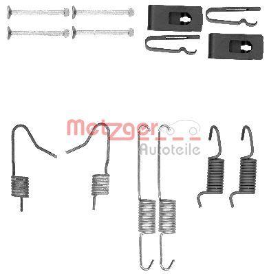 METZGER Zubehörsatz, Feststellbremsbacken 105-0898